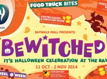 Haloween di Baywalk Mall