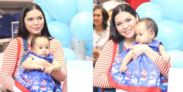 foto: Tara Amelz pasca melahirkan