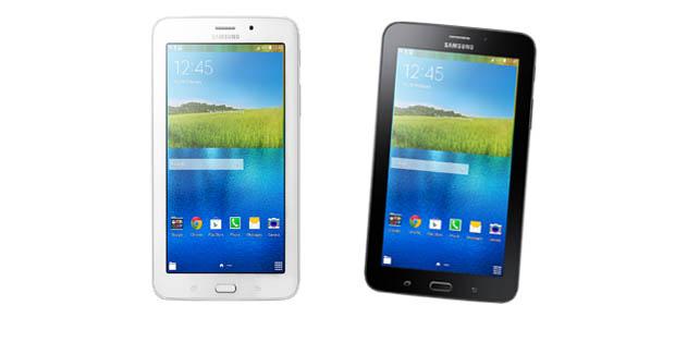 Dua warna Samsung GALAXY Tab 3V
