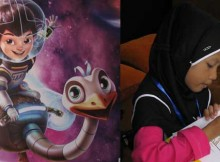 Lomba mewarnai di Miles from Tomorrowland serial screening