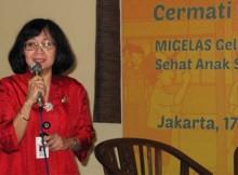 Dr. Kanti Herawati mengingatkan jajanan menarik tidak selalu baik