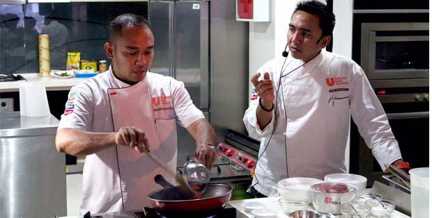 Cooking demo di JFEC Gathering bersama Chef Widhi