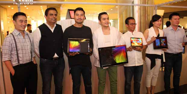 Chico Jericho, Lenovo YOGA Ambassador bersama Lenovo Indonesia