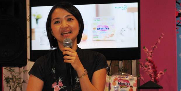 Maria Rosita Leonardi, Associate Senior Manager Baby Diapers PT Kao Indonesia