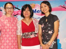 Vera Itabiliana Hadiwidjojo, Psi., Susilowati dan Maria Rosita Leonardi di AEON Mal, Serpong