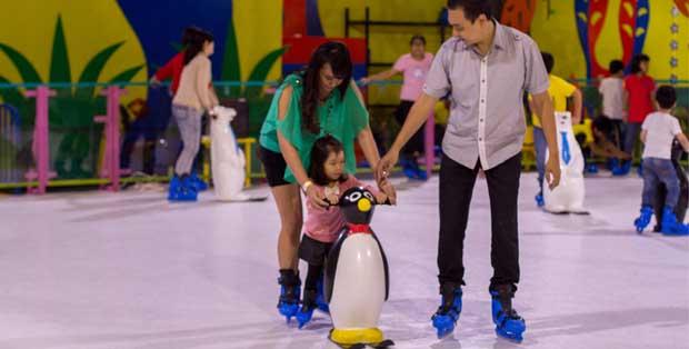 Skating rink Magical Garden