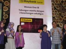 Peluncuran Maybank Syariah Woman One iB