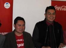 Giring, Suryanto Gunawan, Tulus dan Tatjiana di kampanye Rayakan Namamu