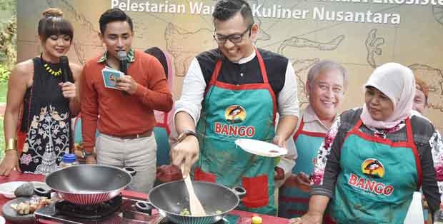 Demo masak Mie Rebus Minang dari Bofet Sianok