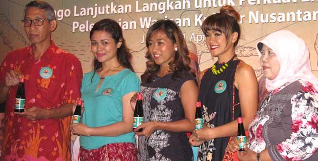 Para legenda kuliner Nusantara bersama Nuning Wahyuningsih dan Nirina Zubir