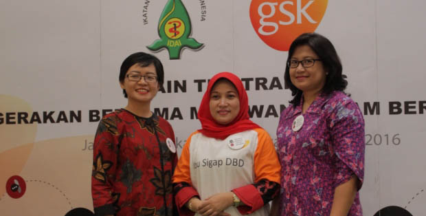 GSK dan IDAI menggelar Train the Trainers untuk ibu-ibu PKK DKI Jakarta