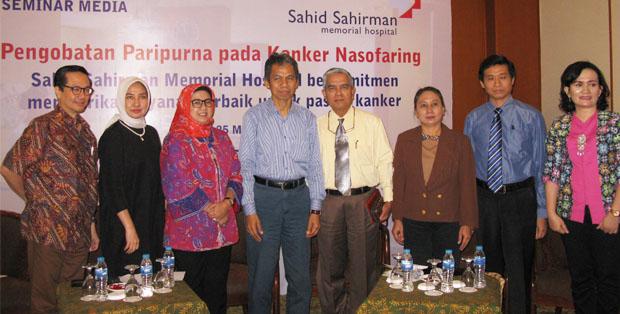 Seminar Pengobatan Paripurna pada Kanker Nasofaring, Sahid Sahirman Memorial Hospital