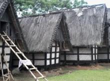 Deretan lumbung padi Sindangbarang Foto: Dok. momdadi.com