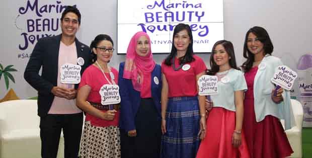 Peluncuran Marina Beauty Journey 2016
