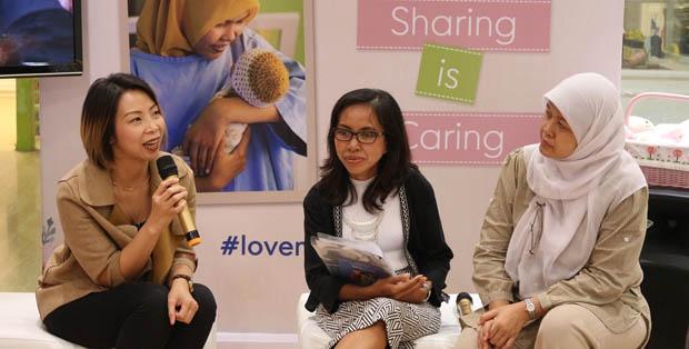 Lina Paulina dan Sushanty berbagi info tentang SMSbunda