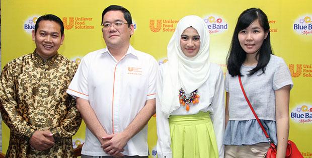 Chef Rahmat Kusnedi, Thomas Agus Pamudji dan Alyssa Soebandono