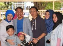 Gen Halilintar dan sebagian anak mereka
