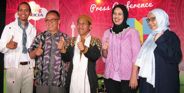 Arif Mujahidin, PM Toh, Najelaa Shihab, Fauziah Syafarina Nasution dan Ariyo Zidni