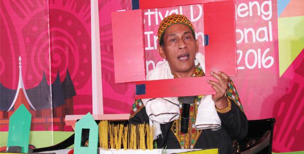 PM Toh, pendongeng asal Aceh, siap beraksi di FDII 2016