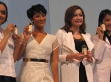 Tara Basro bersama Ayudia Bing Slamet, Febrina Herlambang dan Maggie Lee