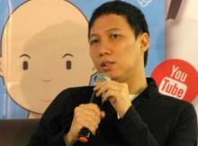Yoris Sebastian saat peluncuran buku Generasi Langgas bersama GagasMedia