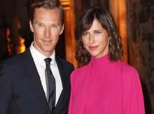 Benedict Cumberbatch &  Sophie Hunter di Doctor Strange London Premiere