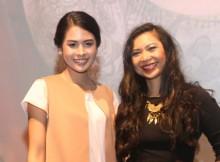 Maudy Ayunda dan Griselda Sastrawinata di Moana Talent Tour
