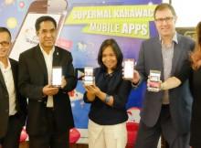 Aplikasi mobile interaktif Supermal Karawaci resmi diluncurkan
