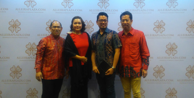 Peluncuran AlleiraPlaza.com di Hotel Mulia, Jakarta