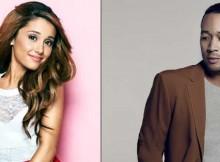 Ariana Grande dan John Legend Foto: istimewa