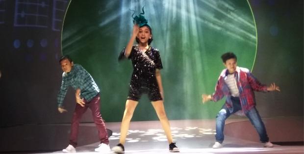 Naura tampil enerjik di konser ke-2