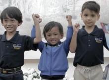 Prana, Fazil dan Hazel, para juara One Step Ahead Kid 2016