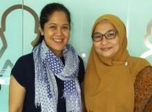 Patrisia Marlina dan Fauziah Syafarina Nasution