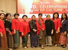 Foto : Komunitas Cinta Berkain menyelenggarakan Pesta Budaya pada awal Februari 2017 di Jakarta Convention Center bekerjasama dengan Indonesia Fashion Week