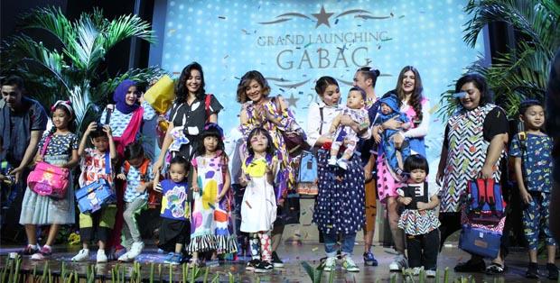 Grand Launching GabaG Indonesia dan fashion show keluarga selebriti