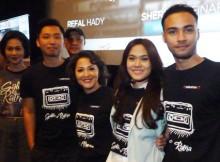 Ayu Dyah Pasha, Lucky Kuswandy, produser 360 SynergyProduction, Sheryl Sheinafia dan Refal Hadi saat preview Galih & Ratna