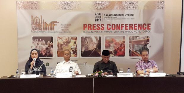 Foto Acara Indonesia Muslim Festival 2017