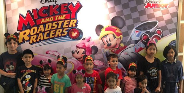 Mickey Mouse menghibur anak-anak Indonesia dengan petualangan baru