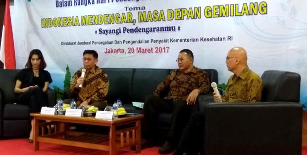 Peringatan World Hearing Day 2017 di Jakarta