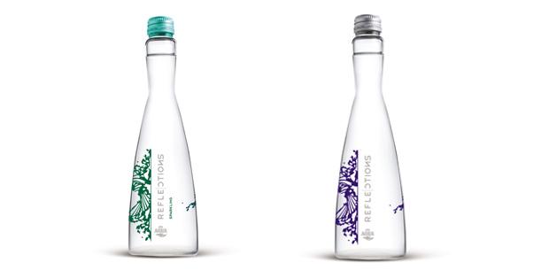 AQUA Reflections dengan botol khusus desain Tex Saverio