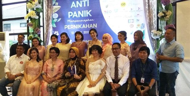 Peluncuran buku Anti Panik Mempersiapkan Pernikahan