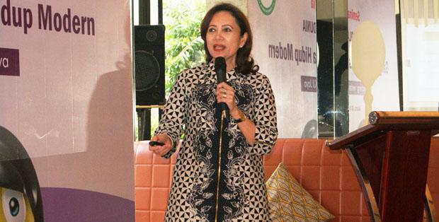 Dr. A.A.A.A. Kusumawardhani, SpKJ (K) saat seminar Gangguan Bipolar vs Gaya Hidup Modern di Jakarta