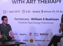 William Budiman dan Jessica Farolan dari Aethra Learning Center menjelaskan stress pada anak