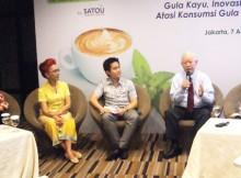 Seminar Tepatkah Konsumsi Gula Anda? bersama Dr. dr. Saptawati Bardosono, M.Sc, Budi Wirawan dan Dr. Yoshihisa Asano, PhD, DPH
