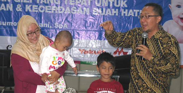 Life coach Noviyanto menjelaskan karakter si kecil dengan membaca wajah