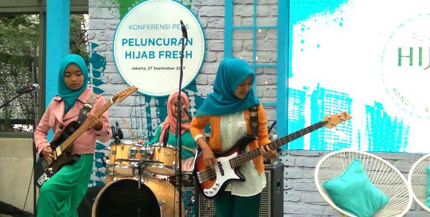 VoB tampil dalam peluncuran Hijab Fresh