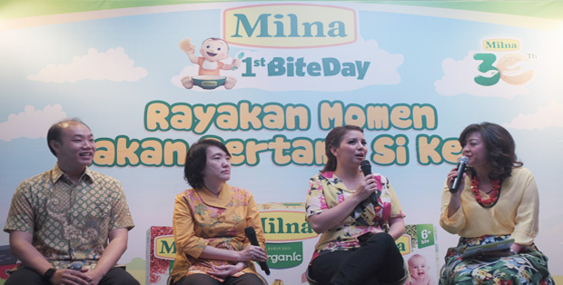 Foto Ki-Ka Christofer Samuel Lesmana, dr. Dr. Conny Tanjung, Sp.A(K), Tya Ariestya, MC