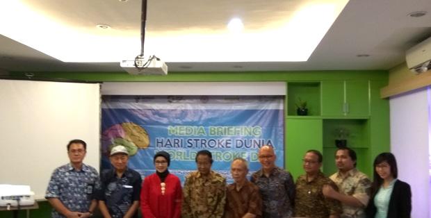 Peringatan Hari Stroke Sedunia di Jakarta