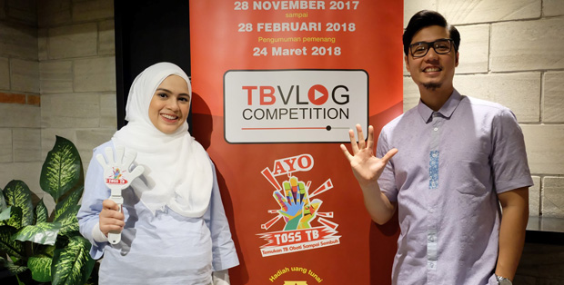 Nyctagina & Kinos dukung TB Vlog Competition