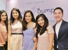 Foto (ki-ka): Titi Kamal (Guest Star), Priscilla Angriawan (Founder of Buba & Bump), Kimberly Sarah Yo (Founder of Buba & Bump), Cynthia Larasanti (Founder of Buba & Bump), dr. Caessar Pronocitro Sp. A. M. sc